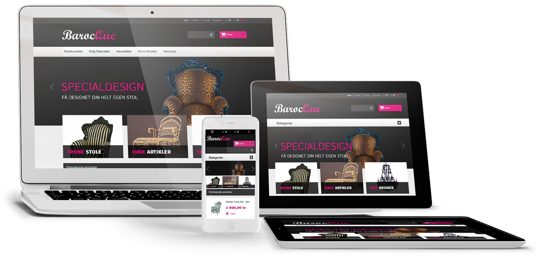 webshop platform