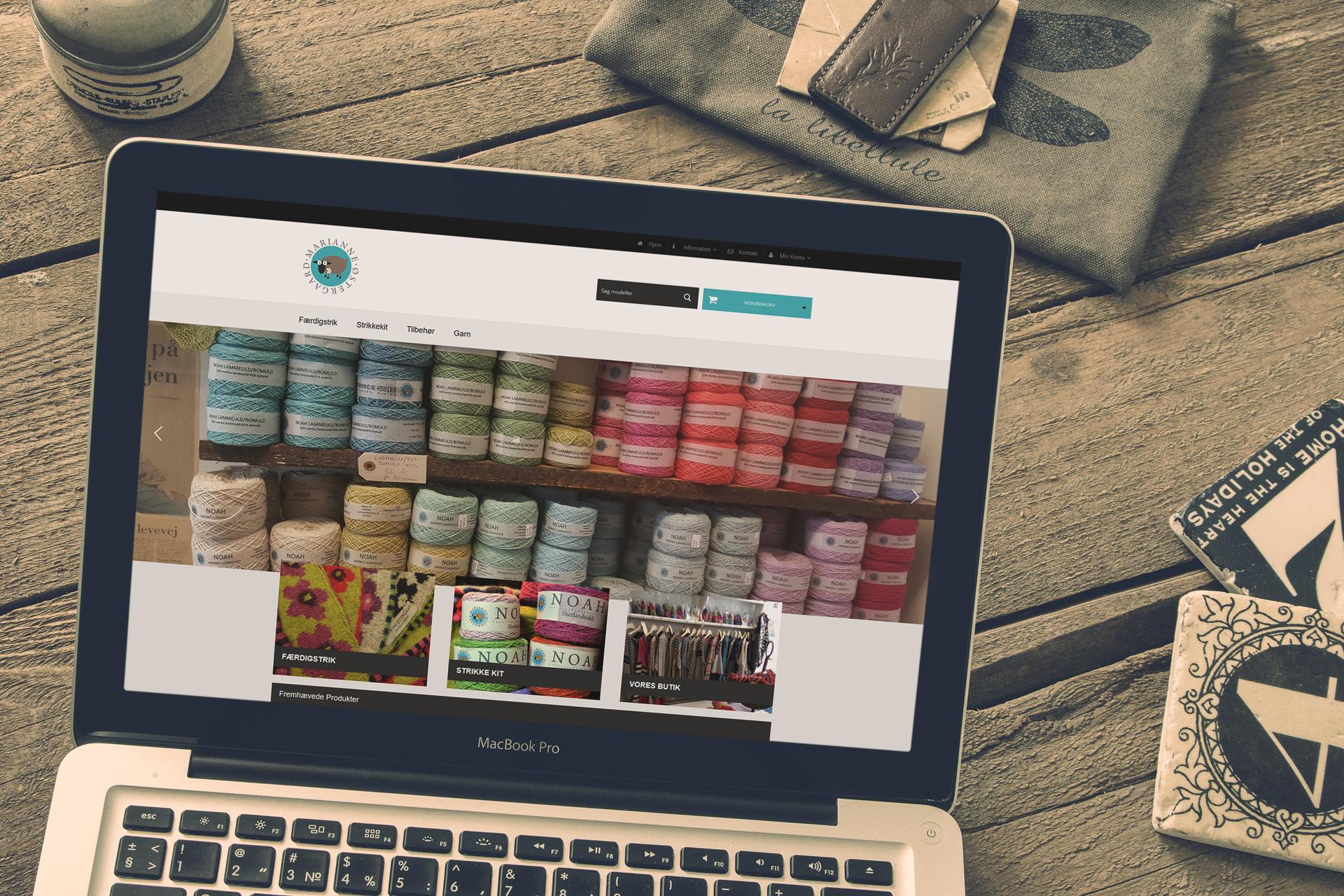 b2b webshop design